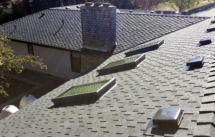 Install skylights