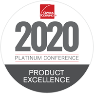 2020-Owens Corning Product Excellence Award